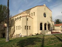 monastery(0.0), cottage(0.0), almshouse(0.0), villa(0.0), church(0.0), hacienda(0.0), chapel(0.0), building(1.0), property(1.0), estate(1.0), mansion(1.0), place of worship(1.0), facade(1.0),