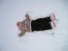 winter storm(0.0), freezing(0.0), hand(1.0), footwear(1.0), winter(1.0), white(1.0), snow angel(1.0), snow(1.0), blizzard(1.0), pink(1.0),