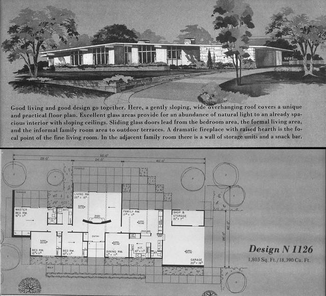 Home Planners Design N1126 · U0027