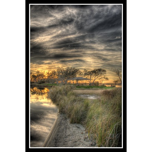 blue trees sunset sky reflection tree green water silhouette clouds gold golden sand nikon colorful explore marsh d200 hdr gulfshores photomatrix nikonstunninggallery superaplus aplusphoto winningest gulfshorestriphdrfortmorgan globalvillage2 lunarvillage sunsurfr