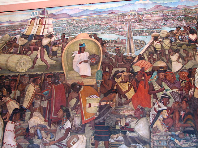 Diego rivera murals palacio nacional mexico city for Diego rivera mural palacio nacional