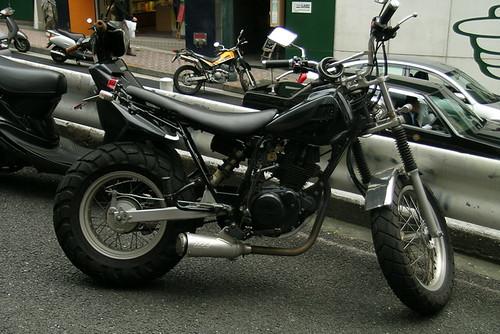 Yamaha TW custom rod