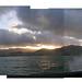 Crashing Wave & Sunset by Janina Kiwi
