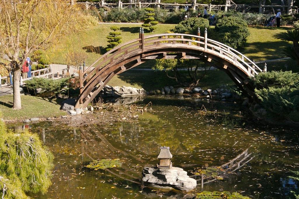 Bridge over koi pond flickr photo sharing for Koi pond bridge