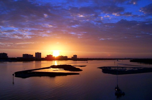beautiful weather clouds sunrise wow florida 2007 portorange halifaxriver volusiacounty