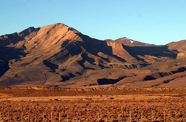 The Argentinean Pampa - On The Way to El Chalten - Patagonia
