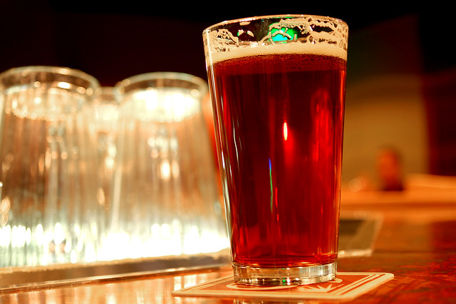 Pint of 90 Shilling Amber Ale