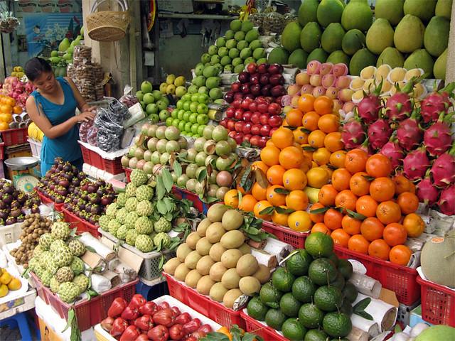 Fruit Market / Vietnam, Saigon