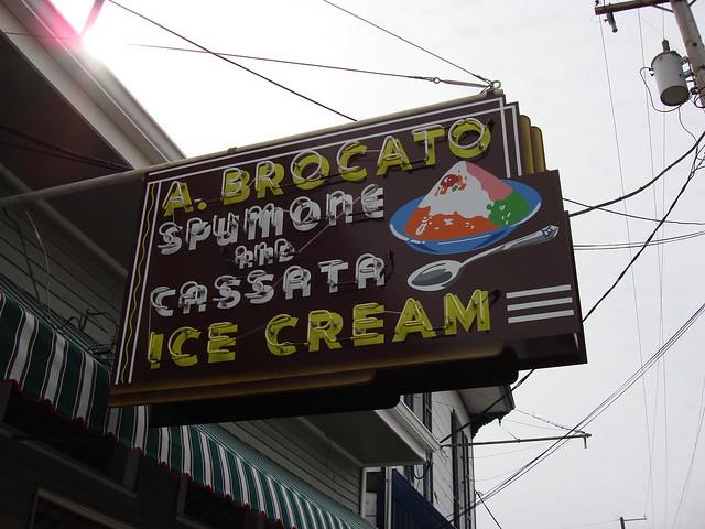 Angelo Brocato's, New Orleans LA