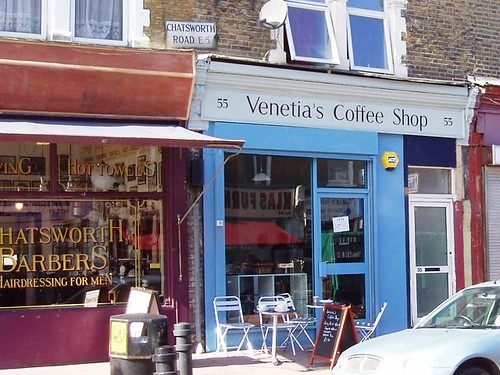 Venetia's Coffee Shop, Lower Clapton, E5