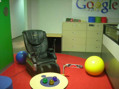 Google Offices - Corner Lounge, Coppell, 2007