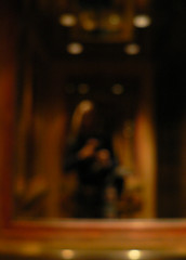 Shadow in Elevator