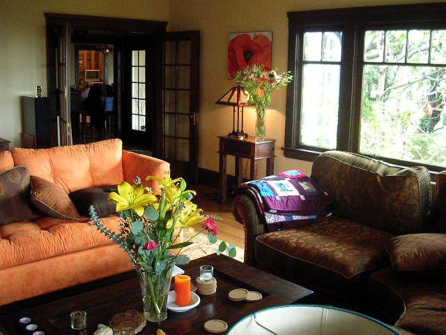 Colorful living room on a rainy day | Flickr - Photo Sharing!