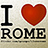 the I LOVE ROME group icon