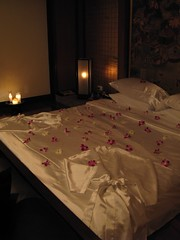 Romantic Satin Sheets