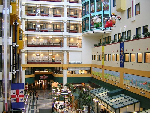 Sick Kids hospital atrium