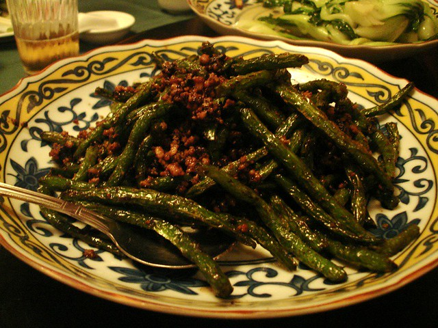 Dry-fried String Beans with Chinese Black Olives | Flickr - Photo ...