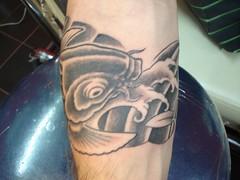 koi fish tattoo (Dejavu Tattoo Studio Chiangmai Thailand)