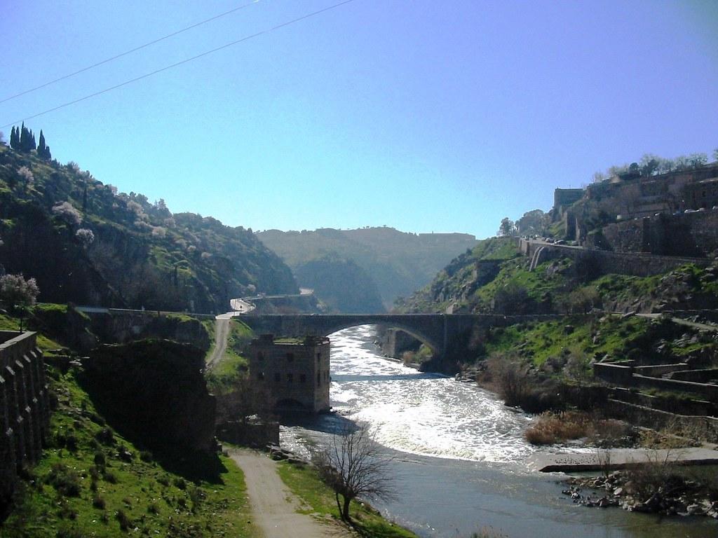 Puente Nuevo de Alcántara. Toledo, España.