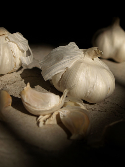 Garlic sensation.