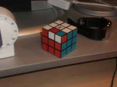 rubik's cube(1.0), mechanical puzzle(1.0), toy(1.0),