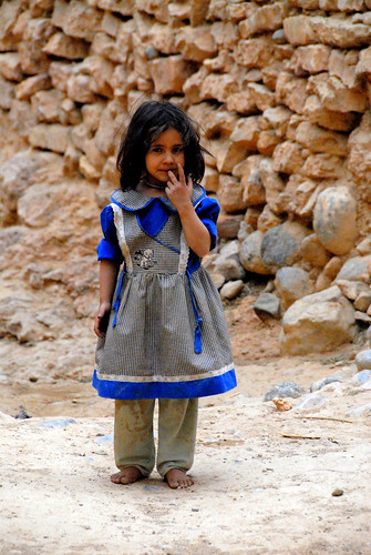 Beautiful Little Moroccan Girl