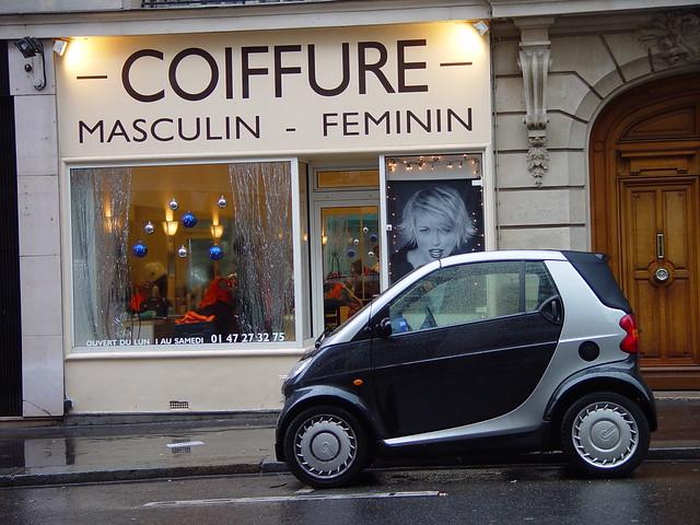 Smart car at paris salon 2001 flickr photo sharing for Hair salon paris france
