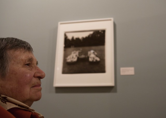 My mother and Diane Arbus