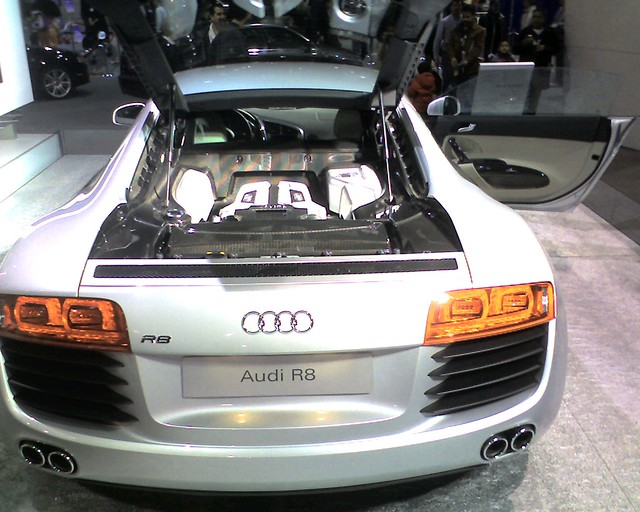 Audi R8 Engine Compartment Flickr Photo Sharing