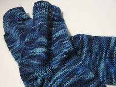textile, wool, knitting, woolen, sock, blue,