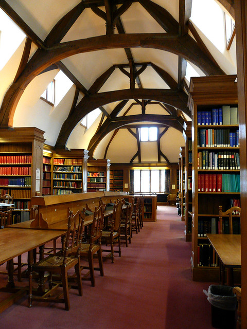rhodes house library, oxford