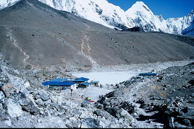 哥拉雪Gorakshep(5,200m)