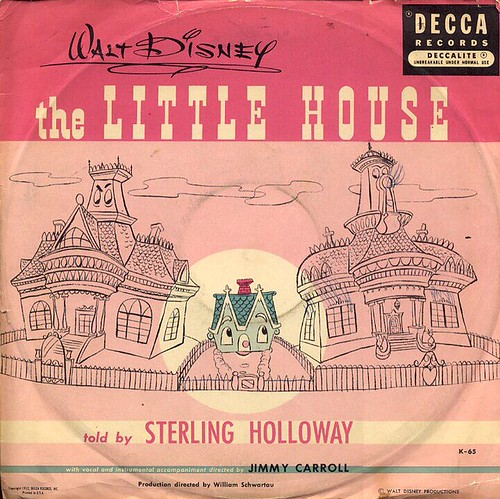 The Little House soundtrack record sleeve