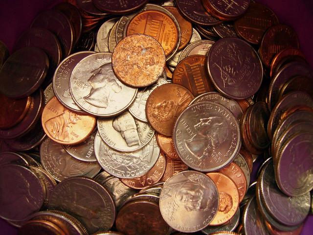 nomes moedas do dolar americano