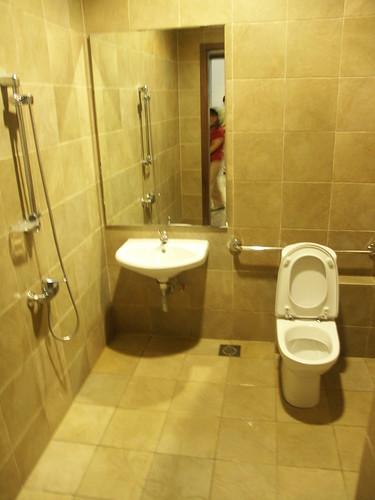 Wheelchair Friendly Bathroom