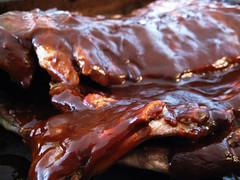 beef(0.0), pork ribs(0.0), sirloin steak(0.0), spare ribs(1.0), roasting(1.0), ribs(1.0), meat(1.0), food(1.0), dish(1.0), cuisine(1.0), venison(1.0), brisket(1.0),