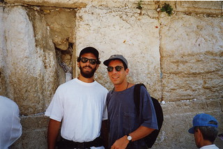 With D at the Wailing Wall
