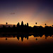 Angkor Wat Sunrise by David M Hogan