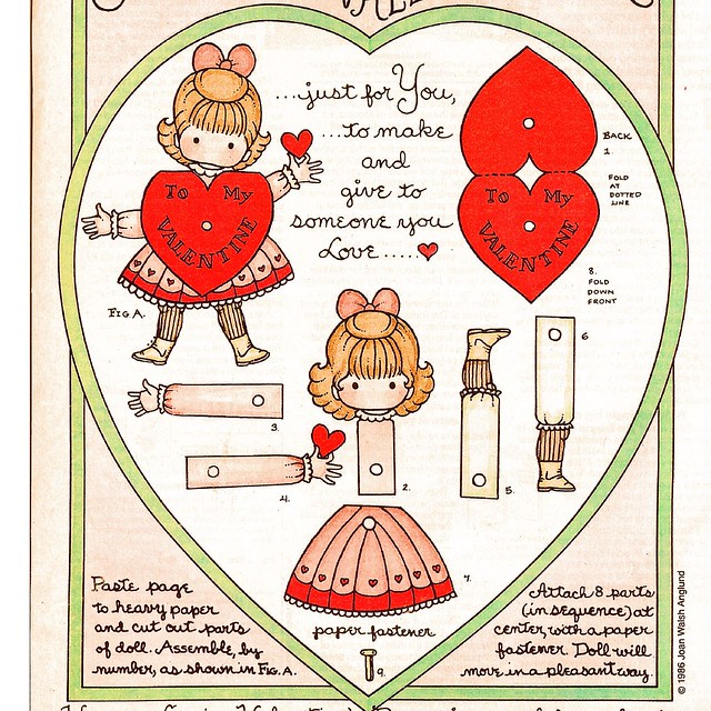 movable heart paper doll sweetness a gallery on flickr 5008