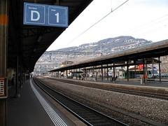 Vevey railway station