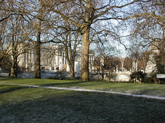 Buckingham Palace from Birdcage Walk