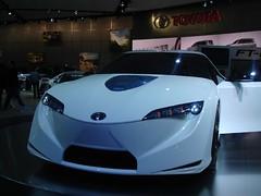 lexus lfa(0.0), automobile(1.0), automotive exterior(1.0), exhibition(1.0), wheel(1.0), vehicle(1.0), performance car(1.0), automotive design(1.0), auto show(1.0), toyota ft-hs(1.0), concept car(1.0), land vehicle(1.0), supercar(1.0), sports car(1.0),