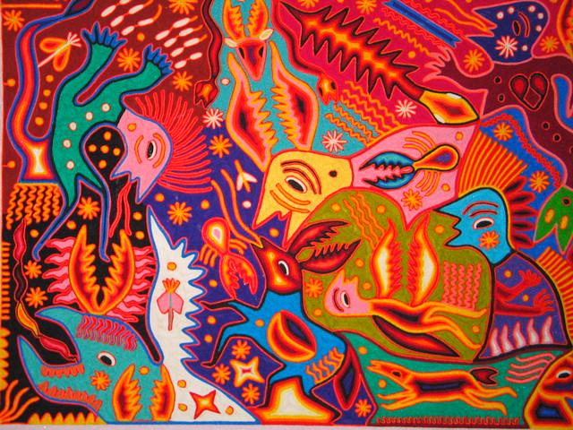 High Hammock Art Painting