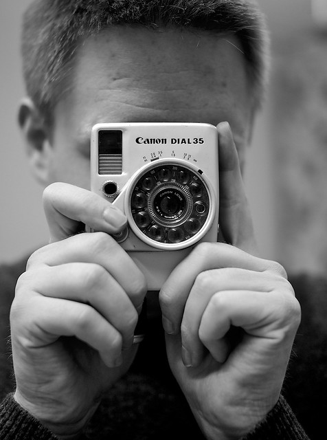 Emil and his handsome Canon Dial 35