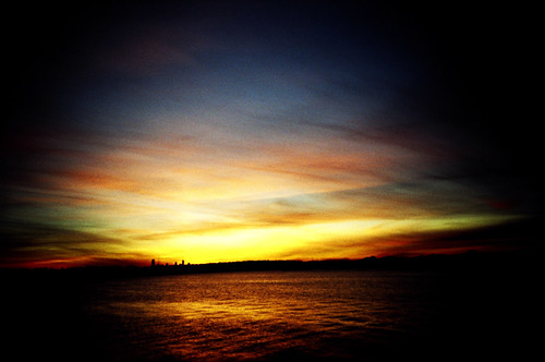 oh, how i've missed xpro sunsets