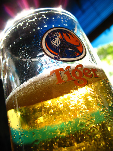 Tiger Beer from Singapore