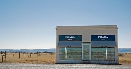 Prairie Prada in Marfa Texas