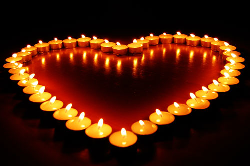 Love in Candles