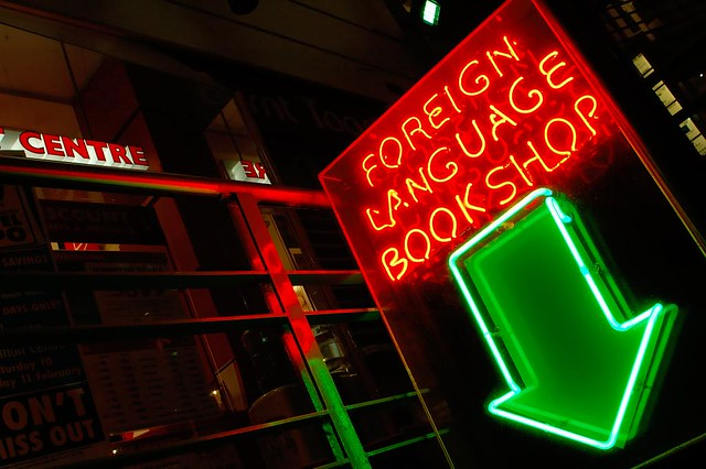 Foreing Language Bookshop - Flickr CC mugley