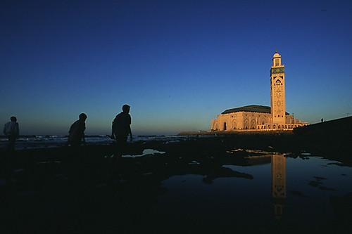 Hassan II Mosque, Casblanca, Morroco